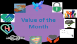 Our Value of the Month